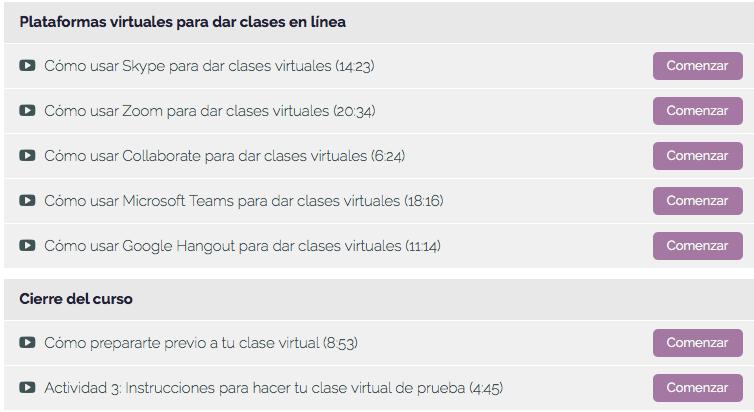 Temas Curso Profesor virtual 4